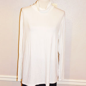 XL Soft Surroundings Ivory Turtleneck Top NWT